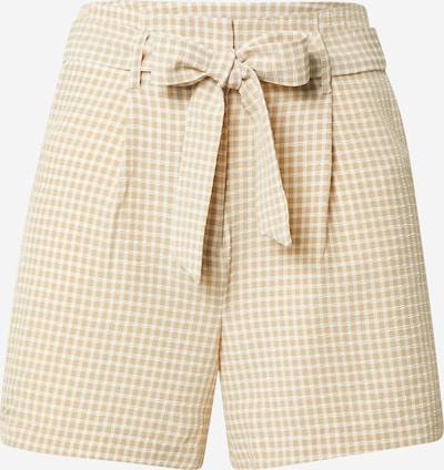 VILA Pantalon à pince 'Aidas' en crème / blanc, Vue avec produit
