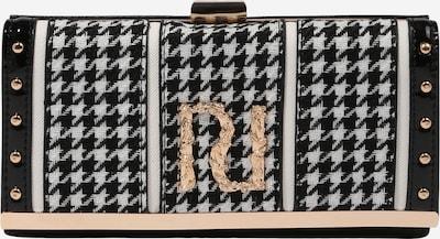 River Island Портмоне 'DOGTOOTH RI' в злато / черно / бяло, Преглед на продукта