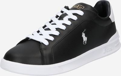 POLO RALPH LAUREN Zapatillas deportivas bajas 'HRT CT II-SNEAKERS-ATHLETIC SHOE' en negro / blanco, Vista del producto