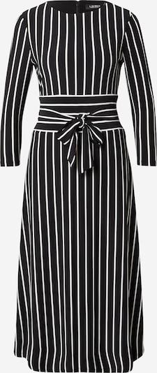 Lauren Ralph Lauren Kleid 'KRISTIE' in schwarz / weiß, Produktansicht