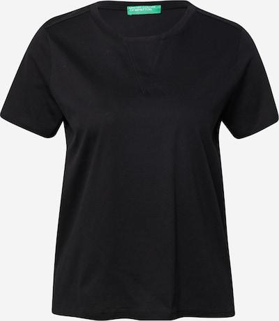 Tricou UNITED COLORS OF BENETTON pe negru, Vizualizare produs