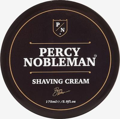 Percy Nobleman Rasiercreme in dunkelbraun / gelb / weiß, Produktansicht