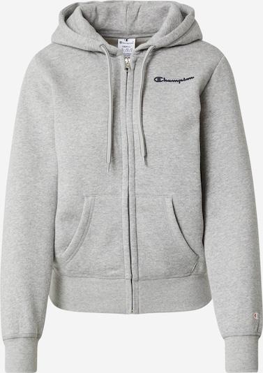 Champion Authentic Athletic Apparel Sweatjacke in nachtblau / graumeliert, Produktansicht
