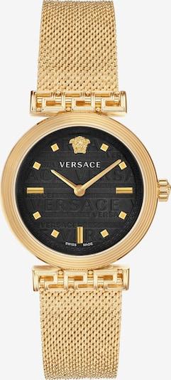 VERSACE Quarzuhr 'Meander, VELW00720' in gold / schwarz, Produktansicht