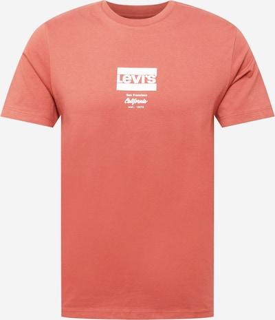 LEVI'S Majica u hrđavo crvena / bijela, Pregled proizvoda