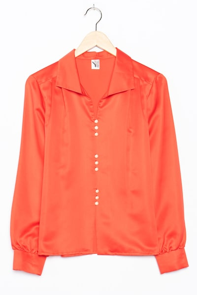 Trevira Bluse in XL in rot, Produktansicht