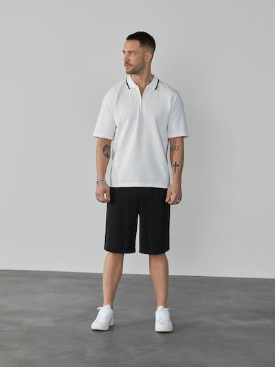 DAN FOX APPAREL Kalhoty 'Miguel' - černá, Model/ka