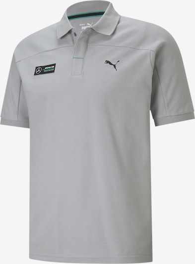 PUMA Funktionsshirt 'Mercedes F1' in grau / schwarz, Produktansicht
