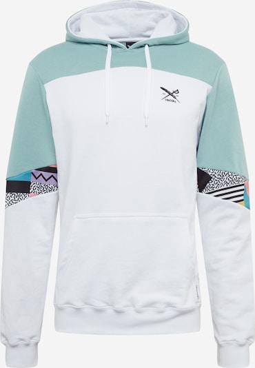 Iriedaily Sweatshirt in mint / mischfarben / weiß, Produktansicht