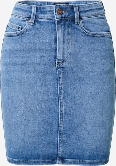 PIECES Rock 'Lili' in blue denim, Produktansicht