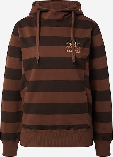 FC St. Pauli Sweat-shirt en marron / noir, Vue avec produit