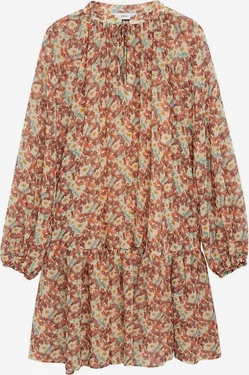 MANGO Obleka 'fresa' | svetlo rjava / mešane barve barva, Prikaz izdelka