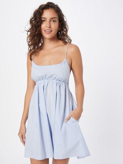 WEEKDAY Kleid 'Linnea' in blau, Modelansicht