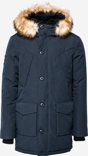 Superdry Zimska jakna 'EVEREST' u tamno plava / svijetlosmeđa, Pregled proizvoda