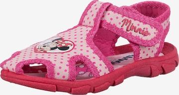 Disney Minnie Mouse Sandalen in Pink