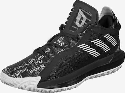 ADIDAS PERFORMANCE Basketballschuh 'Dame 6' in schwarz / weiß, Produktansicht