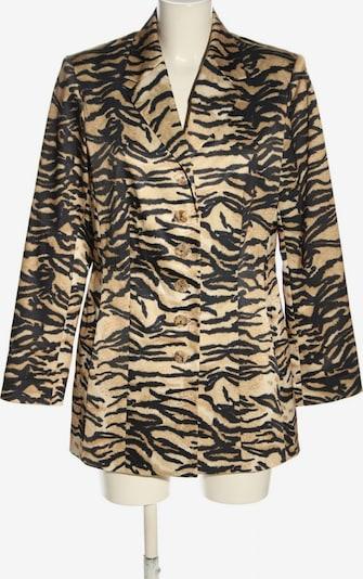 APART Long-Blazer in L in nude / schwarz / wollweiß, Produktansicht