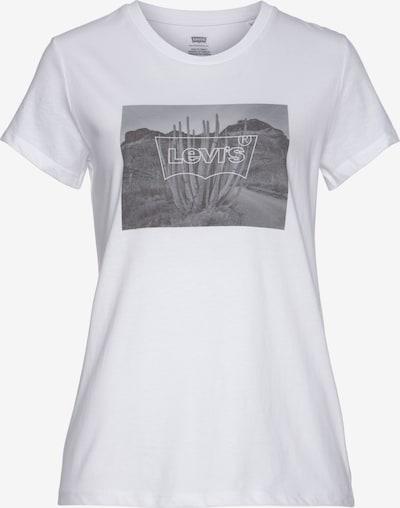 LEVI'S Shirt in grau / weiß, Produktansicht