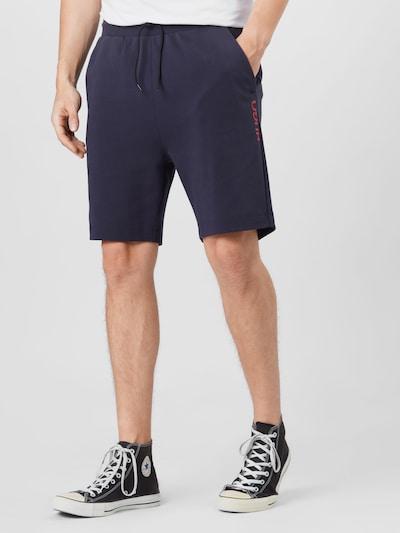 HUGO Spodnie 'DOSHI211' w kolorze granatowym, Podgląd na modelu(-ce)
