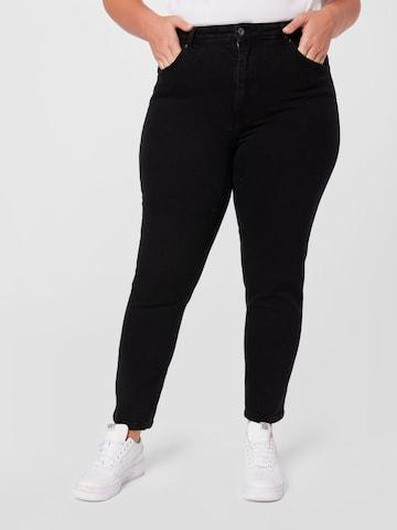 ONLY Carmakoma Jeans 'CARENEDA' in Schwarz
