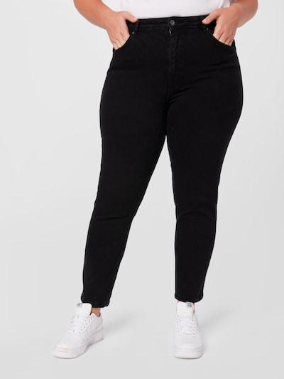 ONLY Carmakoma Jeans 'CARENEDA' in schwarz, Modelansicht