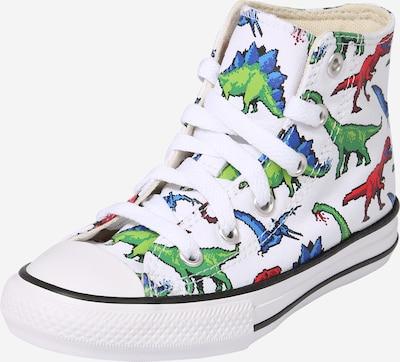Sneaker 'CTAS' CONVERSE di colore blu chiaro / verde chiaro / rosso fuoco / bianco, Visualizzazione prodotti