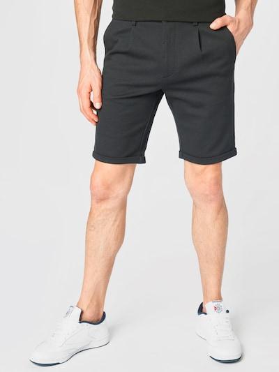 Lindbergh Plisované nohavice - čierna melírovaná, Model/-ka