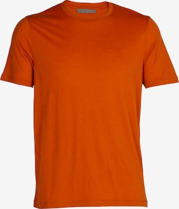 oranžs ICEBREAKER Sporta krekls 'M Tech Lite II'