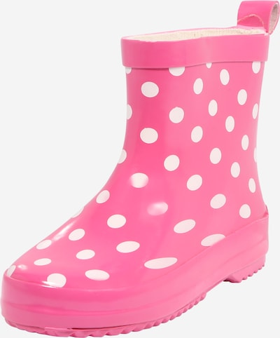PLAYSHOES Gumijas zābaki rozā / balts, Preces skats