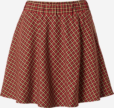 Pimkie Skirt 'KVYMPACART' in Beige / Red, Item view