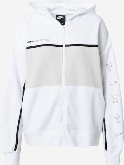 Hanorac 'Archive' Nike Sportswear pe bej / negru / alb, Vizualizare produs