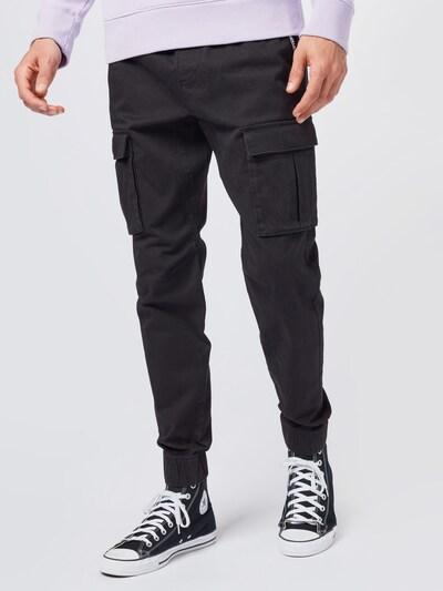 Pantaloni cu buzunare HOLLISTER pe negru, Vizualizare model