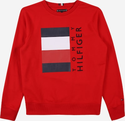 TOMMY HILFIGER Sweatshirt in navy / crimson / white, Item view
