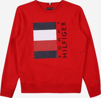 TOMMY HILFIGER Sweatshirt in navy / purpur / weiß, Produktansicht