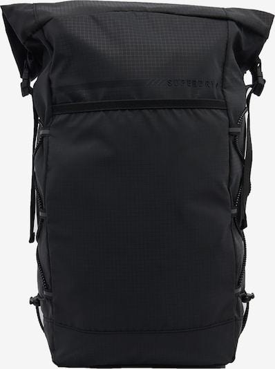 Superdry Sac à dos de sport en noir, Vue avec produit