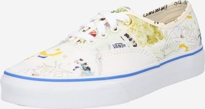 VANS Zemie brīvā laika apavi 'Authentic', krāsa - zils / dzeltens / balts, Preces skats