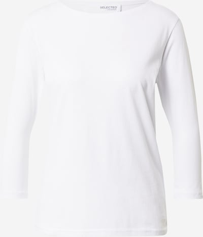 SELECTED FEMME Shirt 'STANDARD' in weiß, Produktansicht