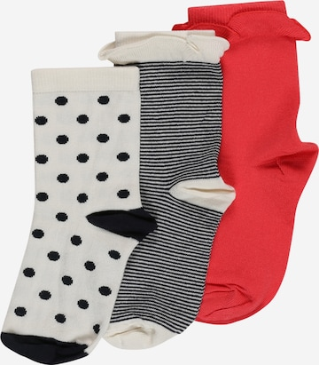 PETIT BATEAU Socken 'CHAUSSETTES' in Weiß