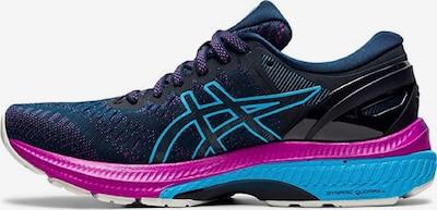ASICS Chaussure de course ' Gel-Kayano 27 ' en bleu / rose, Vue avec produit