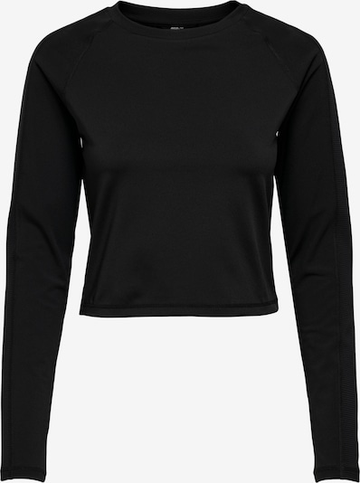Tricou funcțional 'Jana' ONLY PLAY pe negru, Vizualizare produs