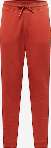Pantalon 'Sestart 1' BOSS Casual en rouge