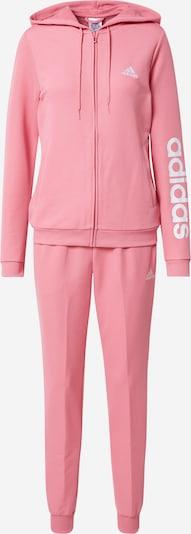 Treniruočių kostiumas iš ADIDAS PERFORMANCE, spalva – ryškiai rožinė spalva / balta, Prekių apžvalga