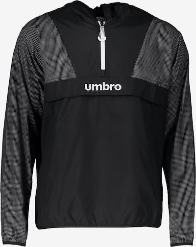 UMBRO Jacke in schwarz / weiß, Produktansicht