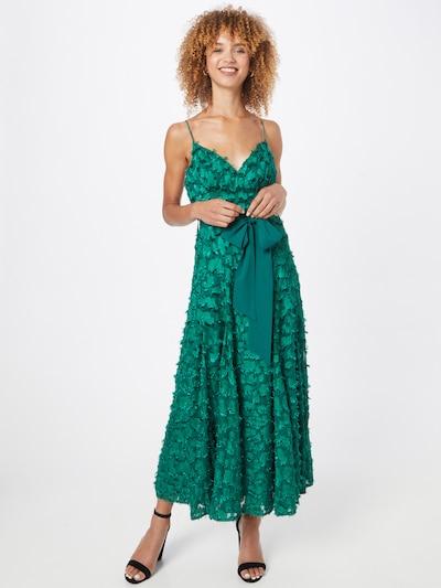 Forever Unique Kleid in dunkelgrün, Modelansicht