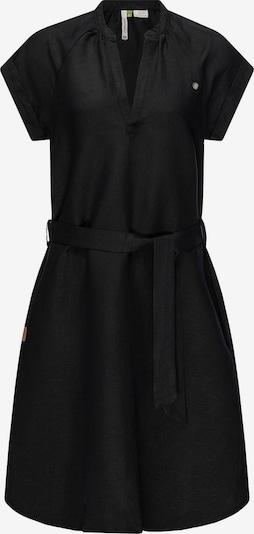 Ragwear Kleid 'Rieka' in schwarzmeliert, Produktansicht