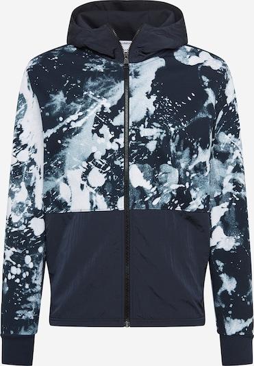 Calvin Klein Суичъри с качулка в нощно синьо / бяло, Преглед на продукта