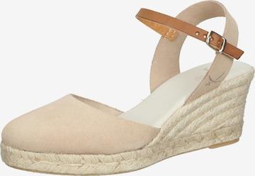 SANSIBAR Schuh in Beige