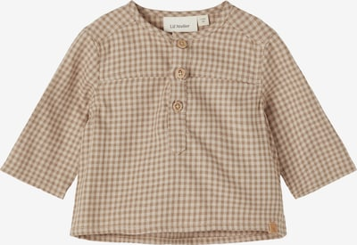 Lil ' Atelier Kids Shirt 'RICARDO' in Brown / Cappuccino, Item view