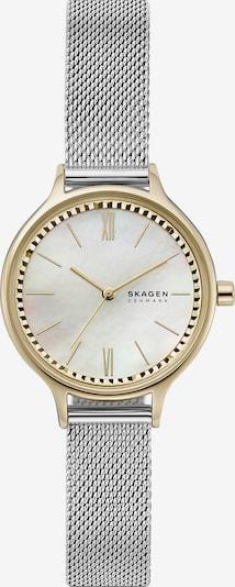 SKAGEN Uhr in gold / silbergrau, Produktansicht