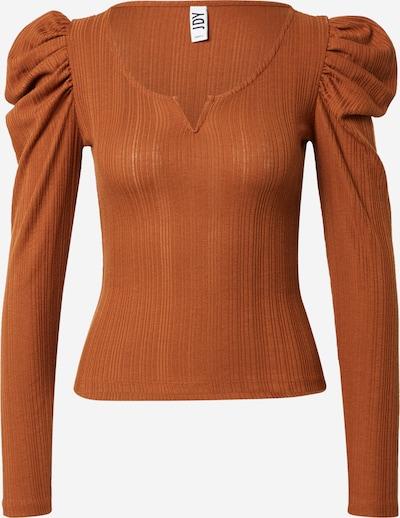 JDY Shirt 'ANNA' in de kleur Roestbruin, Productweergave